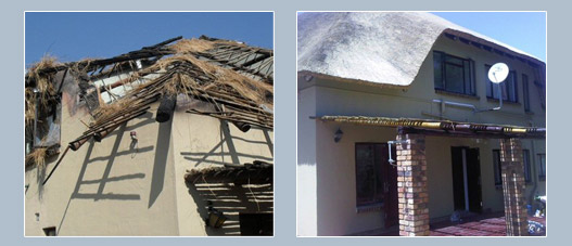 Thatch renovations